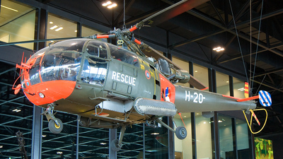 H-20 - Sud-Est SE.3160 Alouette III - Netherlands - Royal Air Force