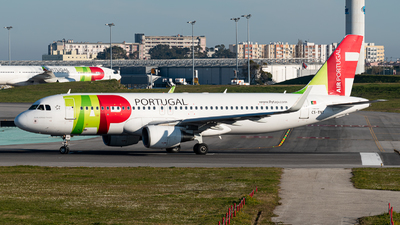 A picture of CSTNT - Airbus A320214 - TAP Air Portugal - © Aaron Vancoillie
