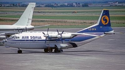 LZ-SFA - Antonov An-12BK - Air Sofia