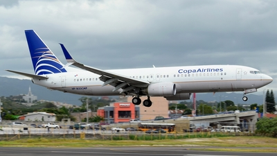 HP-1833CMP - Boeing 737-8V3 - Copa Airlines