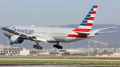 N789AN - Boeing 777-223(ER) - American Airlines