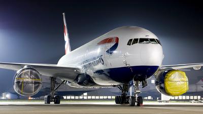 A picture of GYMMP - Boeing 777236(ER) - British Airways - © mark p