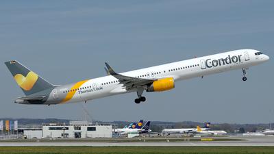 D-ABOJ - Boeing 757-330 - Condor