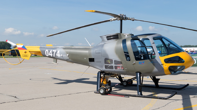 0474 - Enstrom 480B - Czech Republic - Air Force