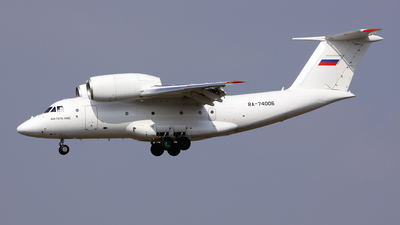 RA-74006 - Antonov An-74TK-100 - Second Sverdlovsk Aviation Enterprise