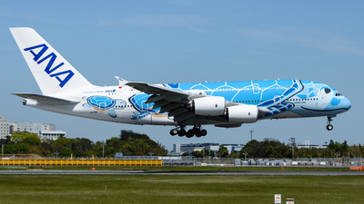 JA381A - Airbus A380-841 - All Nippon Airways (ANA)