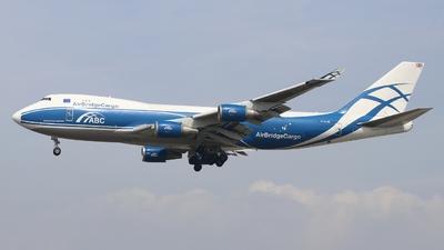 G-CLAE - Boeing 747-4EVERF - CargoLogicAir