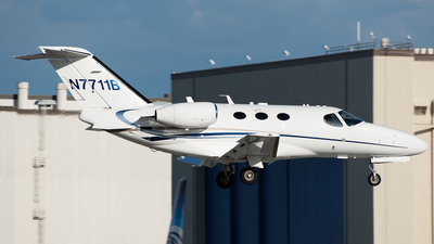 N7711B - Cessna 510 Citation Mustang - Private