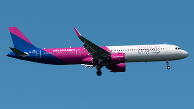 A picture of HALVQ - Airbus A321271NX - Wizz Air - © Paolo Zonca