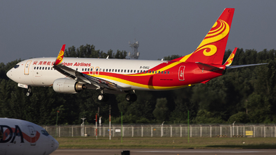 A picture of B5462 - Boeing 73784P - Hainan Airlines - © Amyritter-Lv