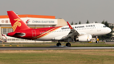A picture of B8798 - Airbus A319133 - Shenzhen Airlines - © Jensen Han