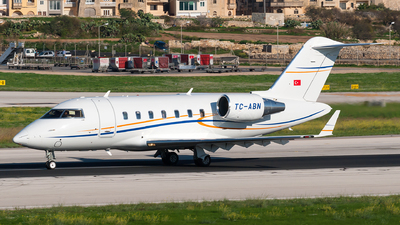 TC-ABN - Bombardier CL-600-2B16 Challenger 605 - Private