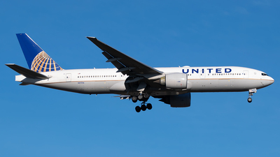 A picture of N57016 - Boeing 777224(ER) - United Airlines - © Timo Duda