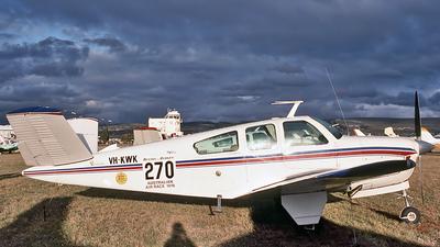 A picture of VHKWK - Beech V35 Bonanza - [D8504] - © Daniel Tanner