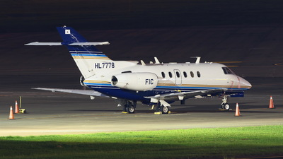 HL7778 - Hawker Beechcraft 750 - Private