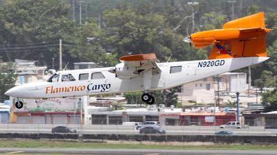 A picture of N920GD - BrittenNorman BN2A Trislander - Air Flamenco - © Eduardo A. Rosario- SJU Spotter