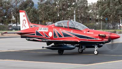 A picture of HBHWO - Pialtus PC21 - Pilatus Flugzeugwerke - © Mitch Coad