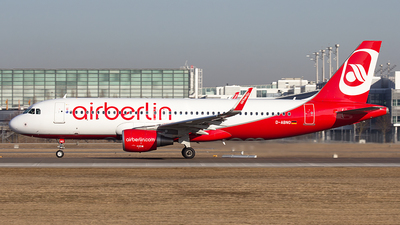 D-ABNO - Airbus A320-214 - Air Berlin