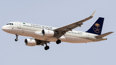 HZ-AS84 - Airbus A320-214 - Saudi Arabian Airlines