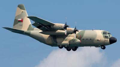 502 - Lockheed C-130H Hercules - Oman - Royal Air Force