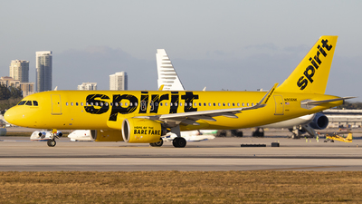 A picture of N906NK - Airbus A320271N - Spirit Airlines - © Nelson Mejia