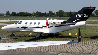 N70HW - Cessna 525 Citationjet CJ1 - Private