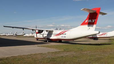 OY-JZA - ATR 72-212A(600) - Far Eastern Air Transport (FAT)