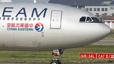 B-5908 - Airbus A330-243 - China Eastern Airlines
