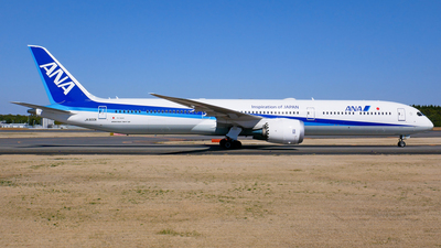 A picture of JA900A - Boeing 78710 Dreamliner - All Nippon Airways - © Shogo Kawai