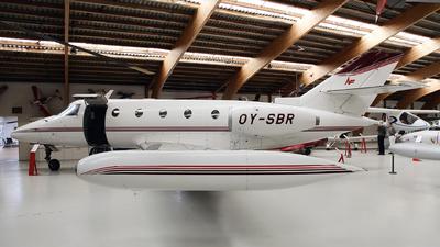 OY-SBR - Aérospatiale SN 601 Corvette - Private