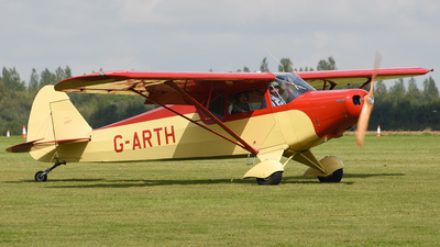 A picture of GARTH - Piper PA12 Super Cruiser - [123278] - © James Mepsted
