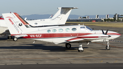 VH-ECF - Cessna 421B Golden Eagle - Aerometrex