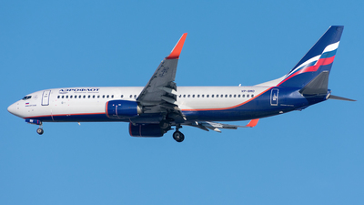 A picture of VPBMO - Boeing 7378LJ - Aeroflot - © Aleksandr Alekhichev