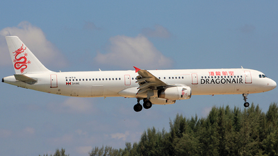 B-HTG - Airbus A321-231 - Dragonair