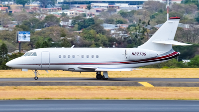 A picture of N227QS - Dassault Falcon 2000 - NetJets - © David Dellavedova Drago