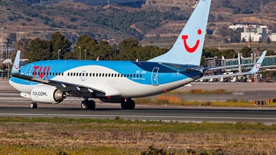 A picture of OOJAR - Boeing 7377K5 - TUI fly - © Manuel Llama - Benalmadena Spotters