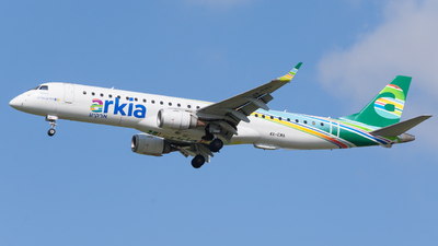 A picture of 4XEMA - Embraer E195AR - Arkia Israeli Airlines - © IdoSpotter