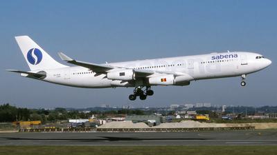 OO-SCW - Airbus A340-212 - Sabena