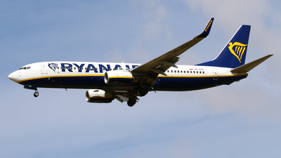 A picture of SPRSG - Boeing 7378AS - Ryanair - © Javier Rodriguez - Amics de Son Sant Joan