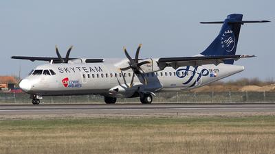 A picture of OKGFR - ATR 72500 - Czech Airlines - © Mihai Cioponea