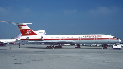 DDR-SFB - Tupolev Tu-154M - Interflug