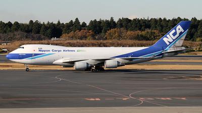 JA08KZ - Boeing 747-4KZF(SCD) - Nippon Cargo Airlines (NCA)