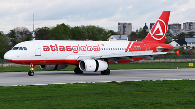 TC-ATK - Airbus A320-232 - AtlasGlobal
