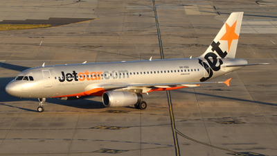 A picture of VHVGU - Airbus A320232 - Jetstar Airways - © Just Aviation YMML13