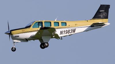 N1983W - Beech A36 Bonanza - Private