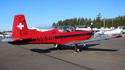 N519AH - Pilatus PC-7 - Private