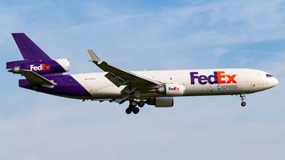 A picture of N615FE - McDonnell Douglas MD11F - FedEx - © Markus Altmann