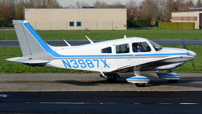 A picture of N3987X - Piper PA28180 - [287505253] - © diopere geert