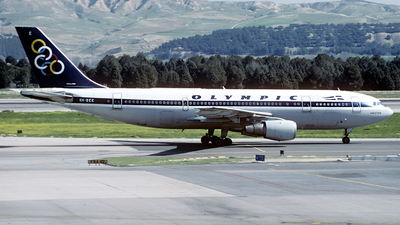 SX-BEE - Airbus A300B4-203 - Olympic Airways