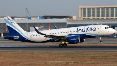 A picture of VTIVV - Airbus A320271N - IndiGo - © Leran Dai